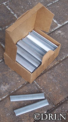 9/16″ D-ring Fasteners Box of 2500, Galvanized