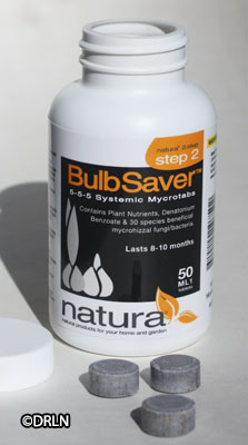 Bulb Saver ™ 50 tablets Natura protects spring flowers from deer – Save $4